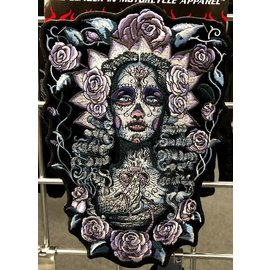 Hot Leather Patch Day of the Dead 9in