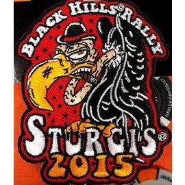 Hot Leather Patch Sturgis Buzzard 2015