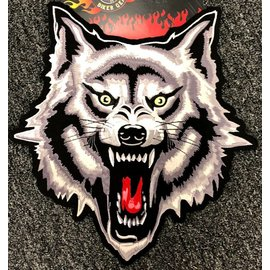 Jerwolf Enterprises Patch Wolf Attack 11in