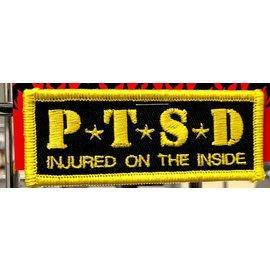 Route 66 Biker Gear Patch PTSD 3 in