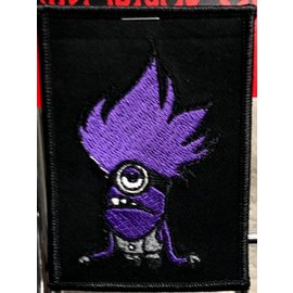 Route 66 Biker Gear Patch Purple Minion 4 in