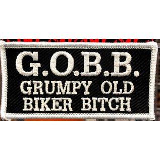 First Coast Biker Gear Patch GOBBitch 4 in