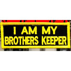 First Coast Biker Gear Patch Brothers Keeper 3 in