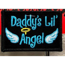 Route 66 Biker Gear Patch Daddys Angel 3 in