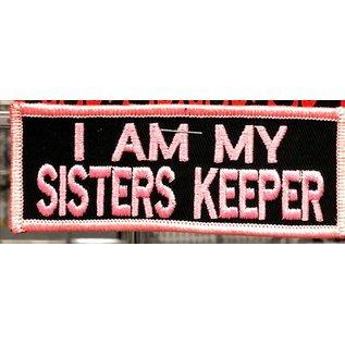 First Coast Biker Gear Patch Sisters Keeper 3in