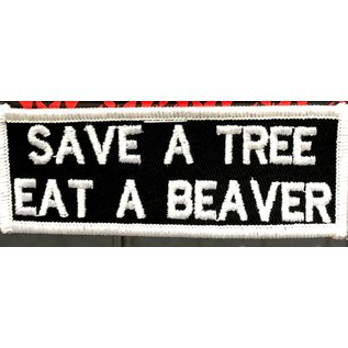 First Coast Biker Gear Patch Save A Tree 4 in