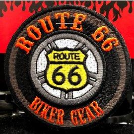 Route 66 Biker Gear Patch Route 66 Biker Gear 3in