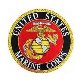 Jerwolf Enterprises Patch Marines Logo Circle 3in