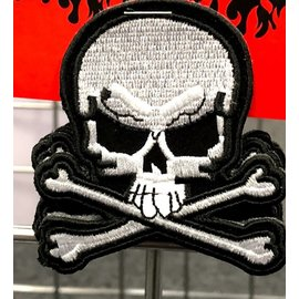 Miscellaneous Patch Skull & Crossbones 3in