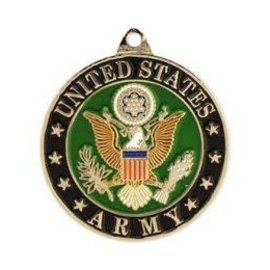 Eagle Emblems Keychain Army
