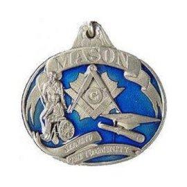 Eagle Emblems Keychain Mason