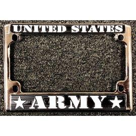Eagle Emblems License Frame Army
