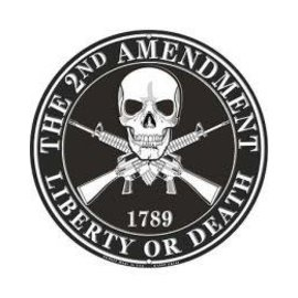 Eagle Emblems Tin Sign 2nd Amendment