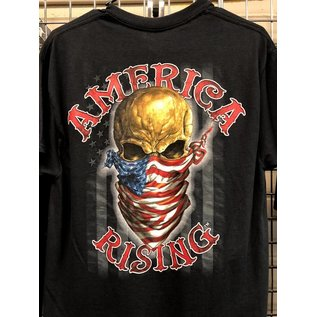 Hot Leather Shirt America Rising