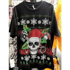 Hot Leather Ugly Christmas Shirt L