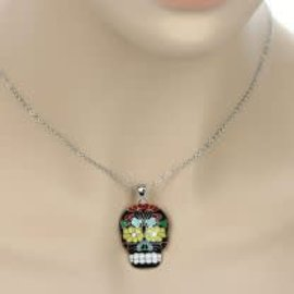 Accessory House Necklace Sugar Skull