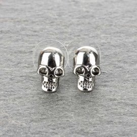 Accessory House Earring Skull Post