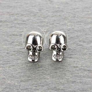 Accessory House Earring Skull Post
