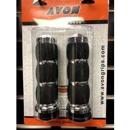 AVON GRIPS Avon Grips Air Cushion HD Electric Throttle Chrome