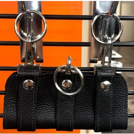Benjamin Leather Key Wrangler Triple