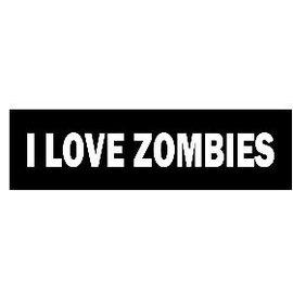 Biker's Stuff HS-I Love Zombies