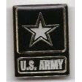 Biker's Stuff Pin Army Logo