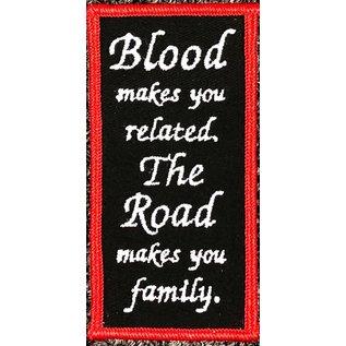 Route 66 Biker Gear Patch Road Family 4in
