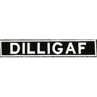 First Coast Biker Gear Patch DILLIGAF 12in