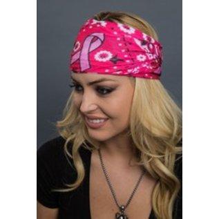 Hair Glove EZ Band Tube Pink Paisley