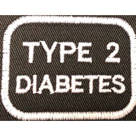 First Coast Biker Gear Patch Medical Alert Type 2 Diabetes 2in