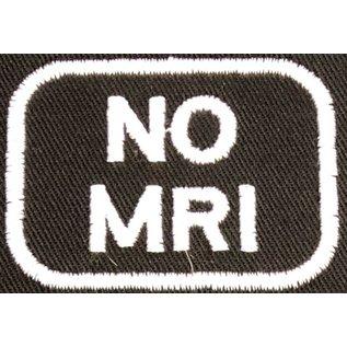 Route 66 Biker Gear Patch Medical Alert No MRI 2in