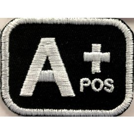First Coast Biker Gear Patch Blood Type A Pos 2in
