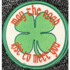 Route 66 Biker Gear Patch May the Road Rise 3in