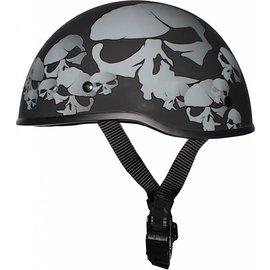 Crazy Al SOA Style Beanie Skulls Flat XL
