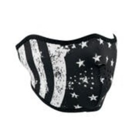 Zan Headgear Zan NHF Mask Black White Flag