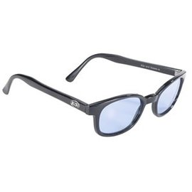 Pacific Coast Sunglasses XKD Black Frame/Blue Lens