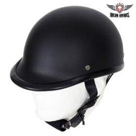 Dealer Leather Novelty Jockey Flat Black L