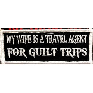 Route 66 Biker Gear Patch Wife Travel Agent 4in
