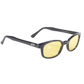 Pacific Coast Sunglasses XKD Black Frame/Yellow Lens