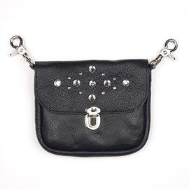 Mascorro Leather Clip Pouch Rhinestone