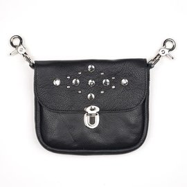 Mascorro Leather *DISC Clip Pouch Rhinestone