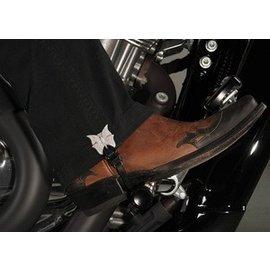 Biker Boot Straps Biker Boot Strap Butterfly 4in