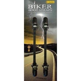 Biker Boot Straps Biker Boot Strap Plain 6in
