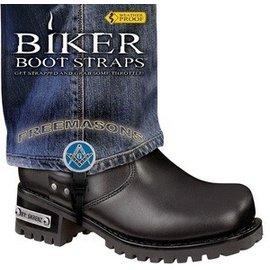 Biker Boot Straps Biker Boot Straps Freemason