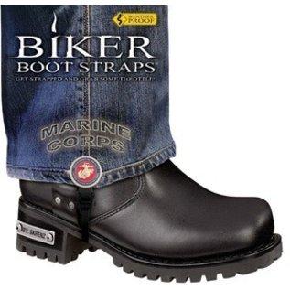 Biker Boot Straps Biker Boot Straps Marine Corp