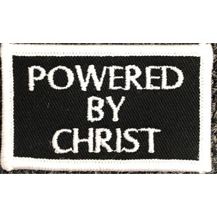 Route 66 Biker Gear Patch Powered by Christ 2.5in