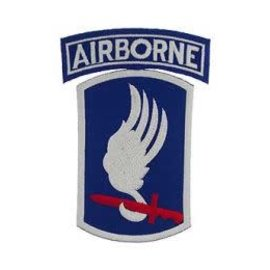 Eagle Emblems Patch Army Airborne 173rd 5in