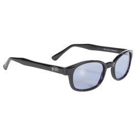 Pacific Coast Sunglasses KD Black Frame/Blue Lens