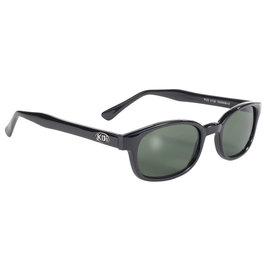 Pacific Coast Sunglasses KD Black Frame/Green Lens
