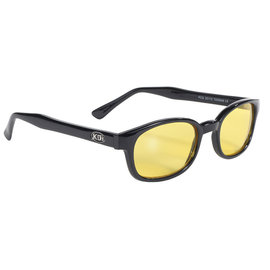 Pacific Coast Sunglasses KD Black Frame/Yellow Lens